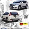 ชุดแต่ง ฺCR-V (2013-2014) รุ่น ZX (6 ชิ้น)