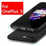 เคส Oneplus 5 Simple Ultra Thin TPU Case (ผิวหยาบ)