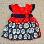 ไซส์ 3 ปี BabyQ ชุดกระโปรงเด็กผู้หญิง