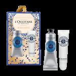 ครีมบำรุงผิวมือและริมฝีปาก L'occitane En Provence Shea Butter hand Cream Kiss