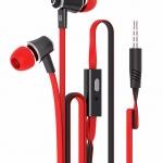 หูฟังคุณภาพดี Super Bass (สีแดง) JM21