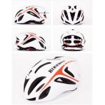หมวก Bikeboy [สีขาว-แดง]