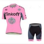 ชุดปั่นจักรยานผู้หญิง Tinkoff ขนาด S