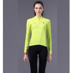 ชุดปั่นจักรยานผู้หญิง Green 001 ขนาด S