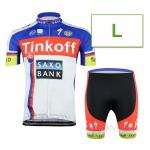 ชุดปั่นจักรยาน Tinkoff 2015 ขนาด L