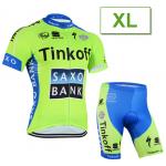 ชุดปั่นจักรยาน Tinkoff ขนาด XL