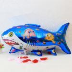 ลูกโป่งปลาฉลามสีฟ้า