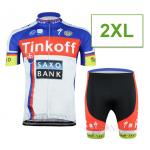 ชุดปั่นจักรยาน Tinkoff 2015 ขนาด 2XL