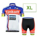 ชุดปั่นจักรยาน Tinkoff 2015 ขนาด XL