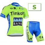 ชุดปั่นจักรยาน Tinkoff ขนาด S