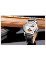 นาฬิกาข้อมือผู้ชายออโตเมติกKS Luxury Tourbillion Moonphase Automatic Watch KS069 สายข้อมือหนัง