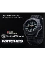 นาฬิกาทหารSmith&Wesson SWISS Quartz Tritium H-3 Soldier สายข้อมือผ้าไนล่อน คุณภาพดี