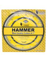 ใบตัดเพชร 2 in 1 ขนาด 7 นิ้ว HAMMER
