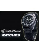 นาฬิกาทหารSmith-Wesson Commando Watch Quartz Analog สายผ้าไนล่อนคุณภาพดี