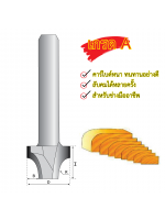 Eurox ดอกเราเตอร์ลบมุม (5,7) 1/4x1/8 (3มม) SP
