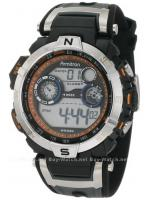 นาฬิกาข้อมือผู้ชายแนวสปอร์ตของแท้ Armitron Sport 408231ORBK Digital ดิจิตอล สายข้อมือยาง