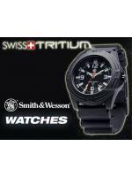 นาฬิกาทหาร Smith&Wesson SWISS Quartz Tritium H-3 Soldier สายข้อมือยางคุณภาพดี