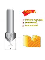Eurox ดอกเราเตอร์ตัววี (5,10) 1/4x(10มม) SP