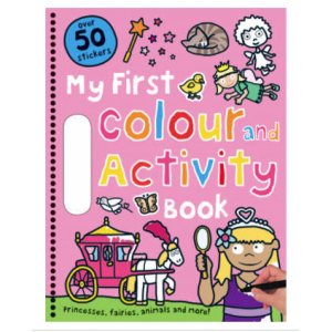 My First Color and Activity Book (Pink)