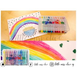 Metallic Sparkle Watercolor Gel Crayons