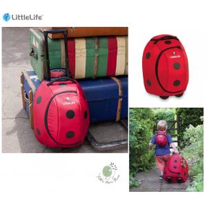 กระเป๋าล้อลากคุณภาพเยี่ยมจาก Little Life ลาย Ladybird