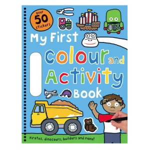My First Color and Activity Book