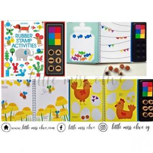 Rubber Stamp Activities Book
