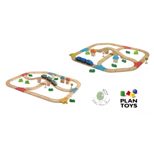 Railway Set จาก Plan Toys