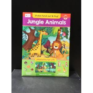 Punch-Out & Play Jungle Animals