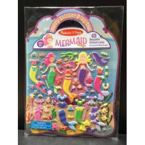 (Puffy Sticker Play Set) Mermaid