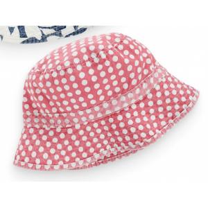 Bucket Hat ชมพูลายจุด