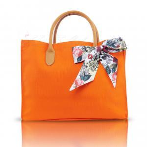Shiseido Orange Shopping Bag - กระเป๋าสะพายไหล่กิ๊บไก๋สไตล์ซัมเมอร์