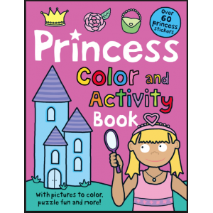 Princess Color and Activity Book