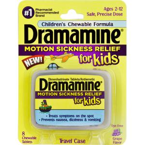 Dermamine Motion Sickness Relief for Kids
