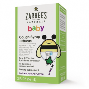 Zarbee's Baby Cough Syrup + mucus reducer