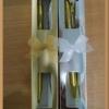 ปากกาเงินทองแพ็คกล่องกระดาษสำเร็จรูป