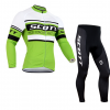 ชุดปั่นจักรยาน แขนยาว Scott เสื้อปั่นจักรยาน และ กางเกงปั่นจักรยาน