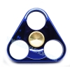 HF094 Hand spinner - GYRO (ไจโร) -Fingertip Gyroscope โลหะ รุ่น Triangle สี น้ำเงิน