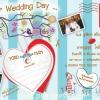 โปสการ์ดแต่งงานหน้าเดียว PP017