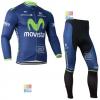 ชุดปั่นจักรยาน เสื้อปั่นจักรยาน และ กางเกงปั่นจักรยาน Movistar ขนาด M