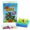 BO046 The peg solitaire jumping game frog เกมส์บอร์ด เสริมพัฒนาการ เกมส์ กบกินกบ ฝึกการปัญหา และ ไหวพริบ