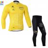 ชุดปั่นจักรยาน แขนยาว Tour de franch เสื้อปั่นจักรยาน และ กางเกงปั่นจักรยาน