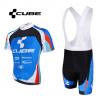 ชุดปั่นจักรยานแขนสั้นทีม CUBE เสื้อปั่นจักรยาน กับ กางเกงปั่นจักรยาน(แบบมีเอี่ยม)