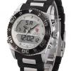 รุ่นใหม่!สายข้อมือสุดแนว นาฬิกาข้อมือผู้ชาย นาฬิกาSHARK Watch Cat Shark WHITE series LED back-lit Date-Day 2 ระบบ สายข้อมือซิลิโคน-อัลลอยด์