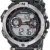 นาฬิกาข้อมือผู้ชายแนวสปอร์ตของแท้ Armitron Sport 408231RDGY Digital ดิจิตอล สายข้อมือยาง