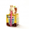 B013 ตุ๊กตาเซรามิค พร้อมชุดปลูกต้นไม้+เมล็ดพันธุ์ กระต่ายน้อย