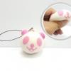 CA194 squeez toy แพนด้าชมพู ( SUPER SOFT) 5 cm.