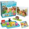 BO056 Three Little Piggiesเกมส์บอร์ด เสริมพัฒนาการ เกมลูกหมูสามตัว ฝึกการแก้ปัญหา และไหวพริบ