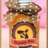 น้ำผึ้ง 1 ออนซ์ ขวดฝาสีน้ำเงินสติกเกอร์ Honeybee