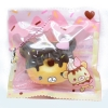 I172 สกุชชี่ Yummiibear Creamiicandy mini donut squishy โดนัท ช็อคโกแลต ขนาด 6 cm (Super Soft) ลิขสิทธิ์แท้